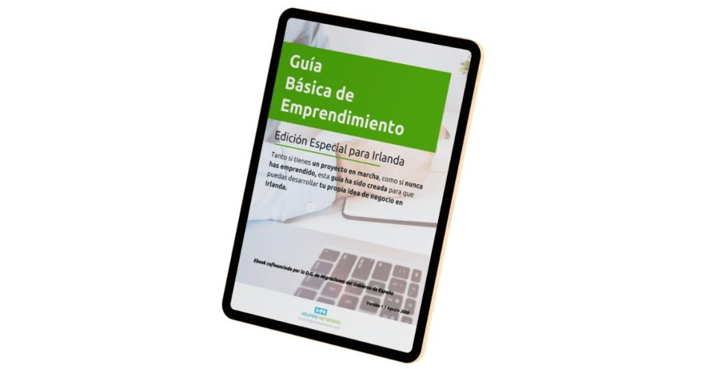 Ebook | Emprender en Irlanda | Helpingnetworks